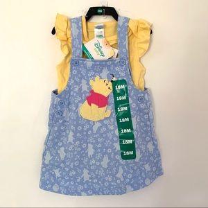 Disney Baby 2 piece Dress NWT